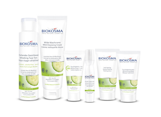 Biokosma Basic Visage Swiss Natural Cosmetics Products Swiss Made