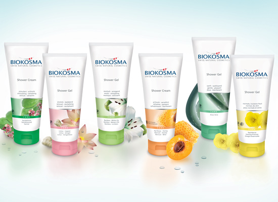Biokosma Shower Products Swiss Natural Cosmetics Products Swiss Made