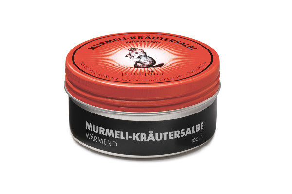 Puralpina Murmeli Kraeutersalbe waermend 100ml Swiss Made
