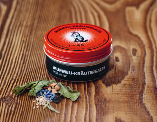 Puralpina Health Marmot Herbal Cream Swiss Made