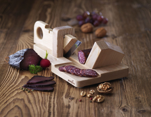 Puralpina Style Handmade Craft Sausage Slicer Swiss Made